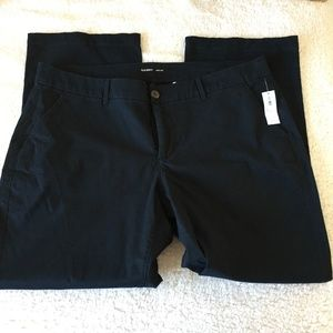 Old Navy Boot Cut Pants Plus Size 18 Short NWT